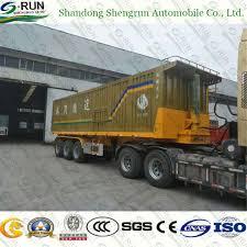 China 3 Axles 20FT Container Dump Semi Truck Trailer/Tipper Trailer ...