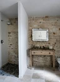 29 fliesen ideen fliesen badezimmer rustikal stein dusche
