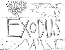 Use This Free Printable Coloring Page To Introduce Children The Biblical Book Of Exodus