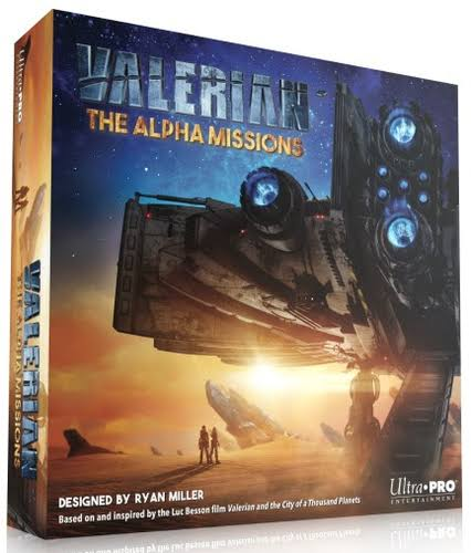 Valerian the Alpha Missions Ultra Pro Strategy Board Game