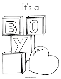 New Baby Luxury Boy Coloring Pages