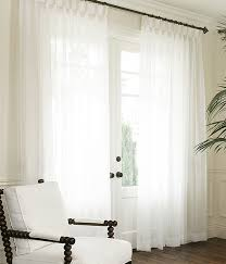 Sheer Cotton Voile Curtains by Custom Voile Drapery Drapestyle Com
