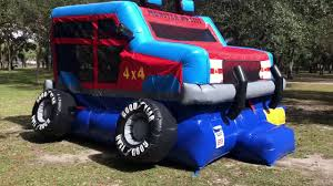 Monster Truck Bounce House Rental - YouTube Monster Truck Bounce House Jump Houses Dallas Rental Austin Rentals Introducing The Combo Water Slide Houston Sky High Party The Patriot Inflatable Whiteford Contractor Equip Powered Dump Trailers 40 Container Bounce Houses Doral Comobo Disco Dome Bouncy Castle For Sale Trex Obstacle