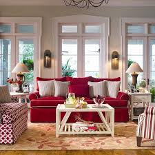 Red Sofa Living Room Ideas by Brides Helping Brides Anyone Have Plaid Couches Country Red Sofa
