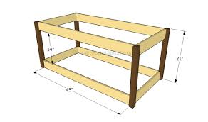 how to make a toy chest out of pallets
