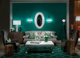 Brown And Teal Living Room by Teal Green With Industrial Floor Lamp Living Room Contemporary And