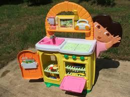 dora s the explorer talking kitchen play set toy accessories local