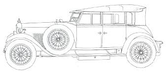 Colouring Pages Vintage Cars Die Bilder U003e Classic Car Coloring