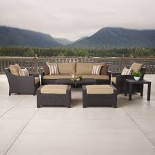 Threshold Patio Furniture Cushions by 100 Threshold Patio Cushions Hanover Traditions 9 Piece