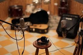 Studio Music Microphone Recording Free Image