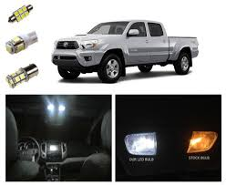 05 15 toyota tacoma led package interior tag lights 9