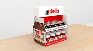 Counter Top Display Made For Nutella