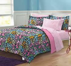 My Little Pony Bed Set by Amazon Com My Room Neon Leopard Ultra Soft Microfiber Girls