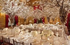 Cherry Blossom Inspired Winter Wonderland Weddings