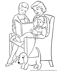 Free Printable Coloring Mom Pages 92 About Remodel Kids With