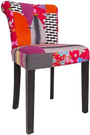 invicta interior patchwork design stuhl mehrfarbig mit