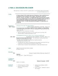 Nursing Graduate Resume Samples Registered Nurse Student New Examples