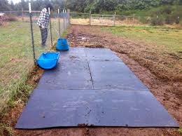 Livestock Loafing Shed Plans by The Reluctant Homesteaders Loafing Shed 1