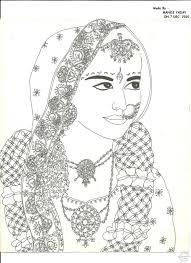Indian Bridal Sketch