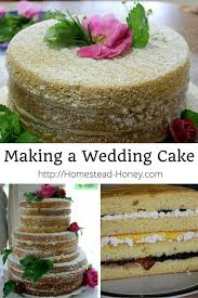 Rustic Wedding Cake No Frosting Best Ideas About Making A On