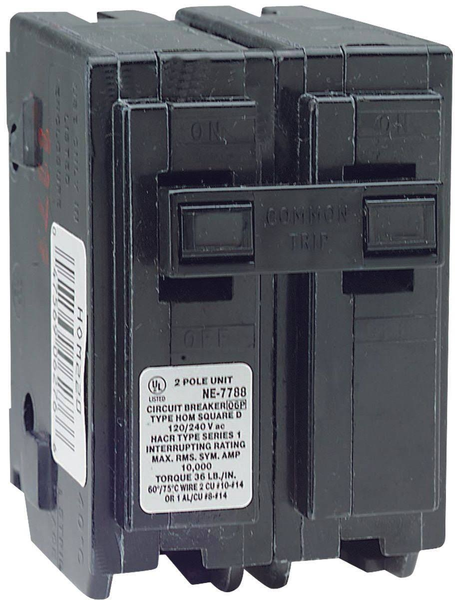 Square D Plugon Circuit Breaker - 40A, 2 Pole