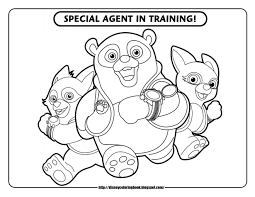 Disney Junior Coloring Pages For Kids Archives Best Page Free Book