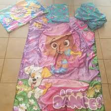 find more bubble guppies 4 piece toddler bedding euc for sale at