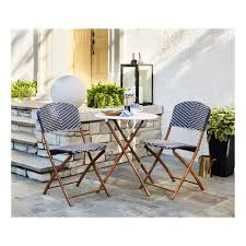 Threshold French Café 3pc Wicker Folding Patio Bistro Set ... Trex Outdoor Fniture Cape Cod Classic White Folding Plastic Adirondack Chair Mandaue Foam Folding Wimbledon Wedding Chair View Swii Product Details From Foshan Co Ltd On Alibacom Vintage Chairs Sandusky Seat Metal Frame Safe Set Of 4 Padded Hot Item Fan Back Whosale Ding Heavy Duty Collapsible Lawn Black Lifetime 42804 Granite Pack Www Lwjjby Portable Chairhigh Leisure China Slat Pad Resin