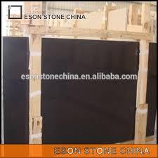 Eson Stone Belgium Black Polished Limestone Tiles Slabs Nero Belgio Flooring