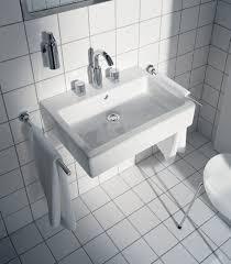duravit vero large rectangular console washbasin set