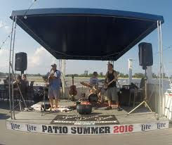 Wharfside Patio Bar Point Pleasant New Jersey by Jamie Brown Band