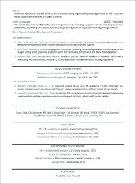 Cpa Sample Resume Finance Manager