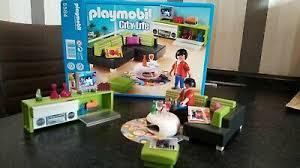 spielzeug playmobil puppenhaus 5584 wohnzimmer fernseher