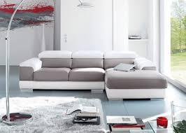 atlas canapé canap cuir bicolore cool canap p relax fauteuil lectrique cuir gris