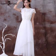 popular short white chiffon dress buy cheap short white chiffon