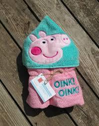Mickey Mouse Bath Set Hooded Towels by Peppa Pig Inspired Hooded Bath Pool Towel Pink Pig Hooded