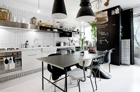 Industrial Home Kitchen Design Rustic