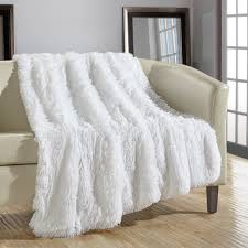 Bella Lux Bedding by Nemcor Inc Life Comfort Sculpted Plush Throw Blanket
