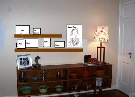 Wood Shelves Design Ideas by Black Wooden Cube Wall Shelves With Black Wooden Connected On Grey