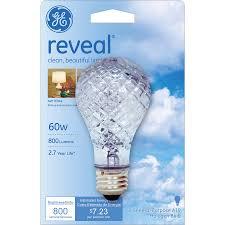 shop ge 60 watt dimmable color enhancing a19 halogen light fixture