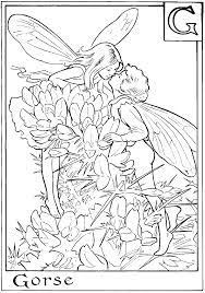 Coloring Sheets Fairy Page Flower