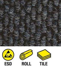esd conductive carpet roll and tile tek stil concepts
