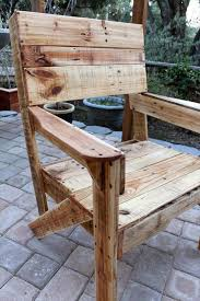 Pallet Garden Chair Instructions
