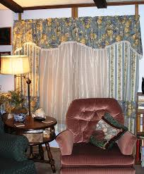 Rustic Valances For Living Room Window Treatments