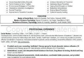 Social Work Resume Sample From Objectives Fresh Nursing Home