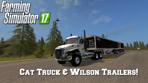 FS17 Mod Spotlight - EP. 3: Cat Truck & Wilson Trailers! - YouTube 2018 Chevrolet Silverado In Wilson Nc Truck Dealer Hubert Tipper Semitrailer For American Simulator The Bachmanwilson House Arrival Arkansas Crystal Bridges County Fire Department Donates Apparatus New Wilson Combo Flat Burlington On And Trailer Fuel Truck One Or Two Cars On Fire Bridge Nova Toyota Of Escondido Extends Contract With Dean Transworld Receives New Ae Sons Ltd Scania R Highline Y5 Aew Yorkshire Russell Wheaties Box A Taste General Mills Livestock V10 Fs17 Farming 17 Mod Fs 2017