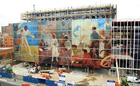 Harlem Hospital Wpa Murals by Ce Center More Than One Way To Skin A Building