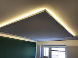 deckensegel mit indirekter beleuchtung beleuchtung