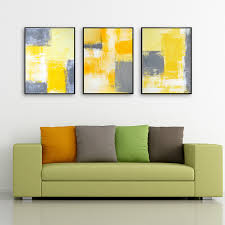 HAOCHU Modern Art Picture Abstract Composition Color Block Design