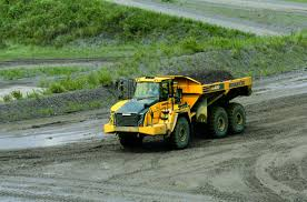 100 Articulating Dump Truck Articulated Dump Truck Diesel Mining And Quarrying HM4005